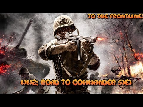 "COD WW2: Road to commander S1E1 ""To the frontline!!"""