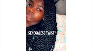 Senegalese Twist on yourself | Quick & Easy | Natural Look | 4C Hair