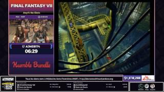 [SGDQ17 Restream FR] Final Fantasy VII (Any% No Slots)