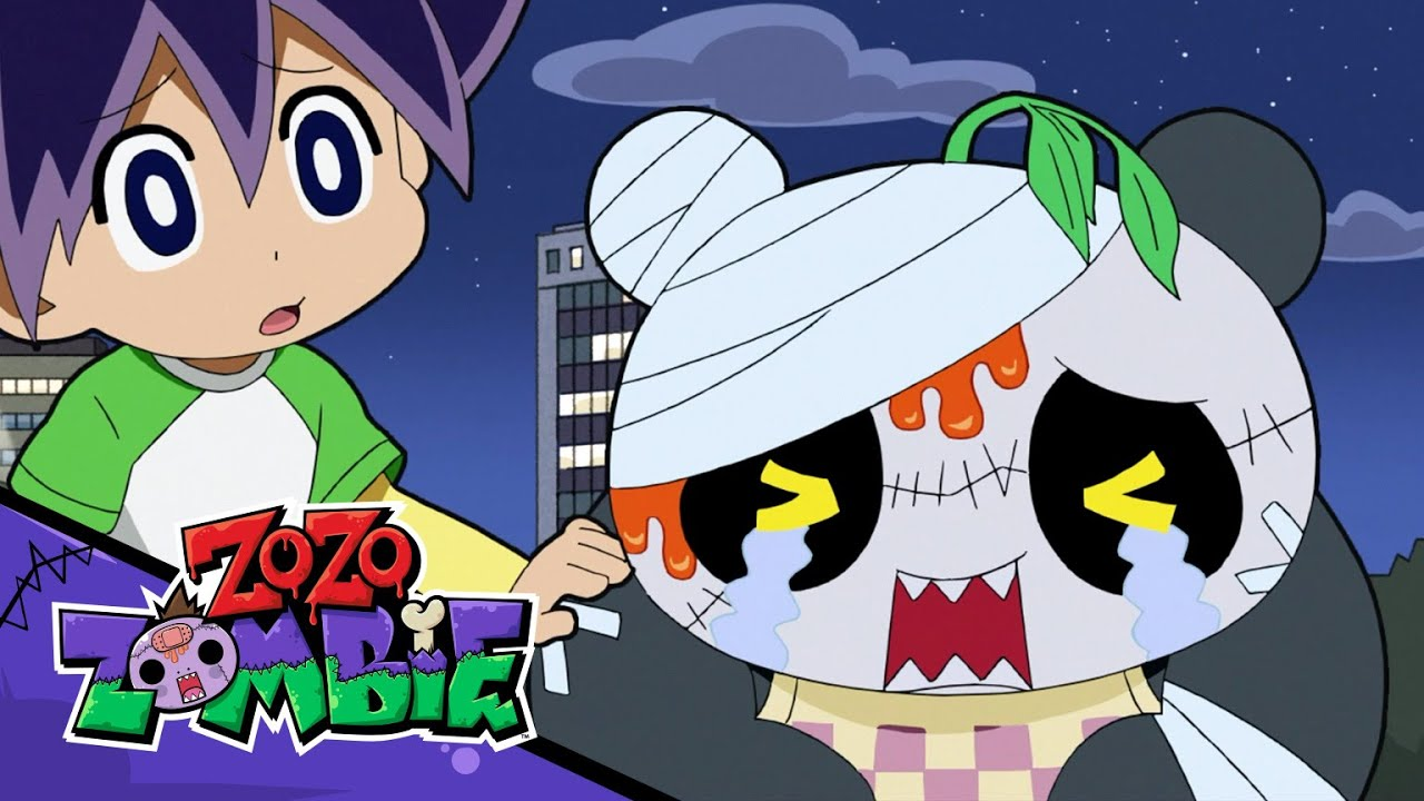 Zo Zo Zombie and Isamu Save Panda Zombie from Shark Zombie!