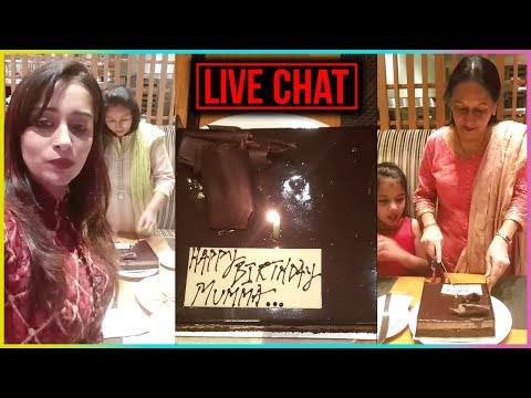 Dipika Kakkar Celebrates Her Mother's Birthday In Pune | LIVE CHAT