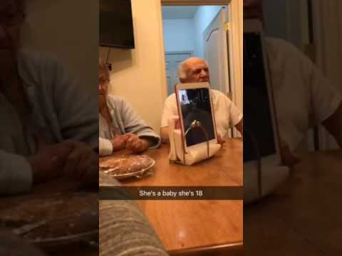 Greg Kretschmar - Grandparents Yell At Kid on Facetime - Hilarious!