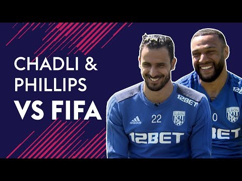 Which West Brom player should have 99 PACE!? | FIFA vs Chadli & Phillips 🔥🔥🔥