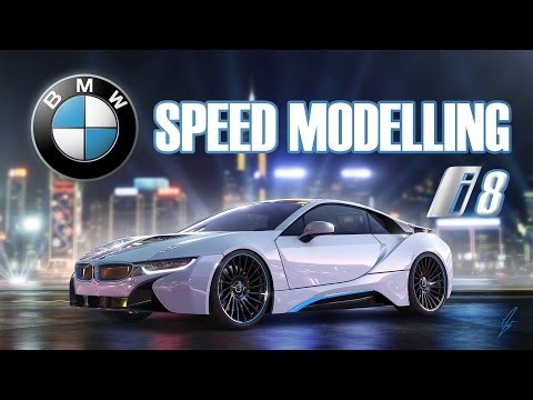 3D Timelapse: BMW i8 - Autodesk Maya