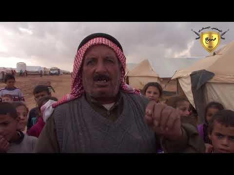 معانات النازحين في مخيمات مدينة منبج مع حلول فصل الشتاء 1-11-2017