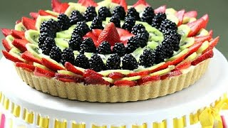 How To Make An Easy, No-bake Fruit Tart  - Rossella Rago  - Cooking With Nonna
