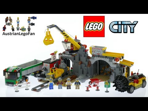 Lego City 4204 The Mine - Lego Speed Build Review