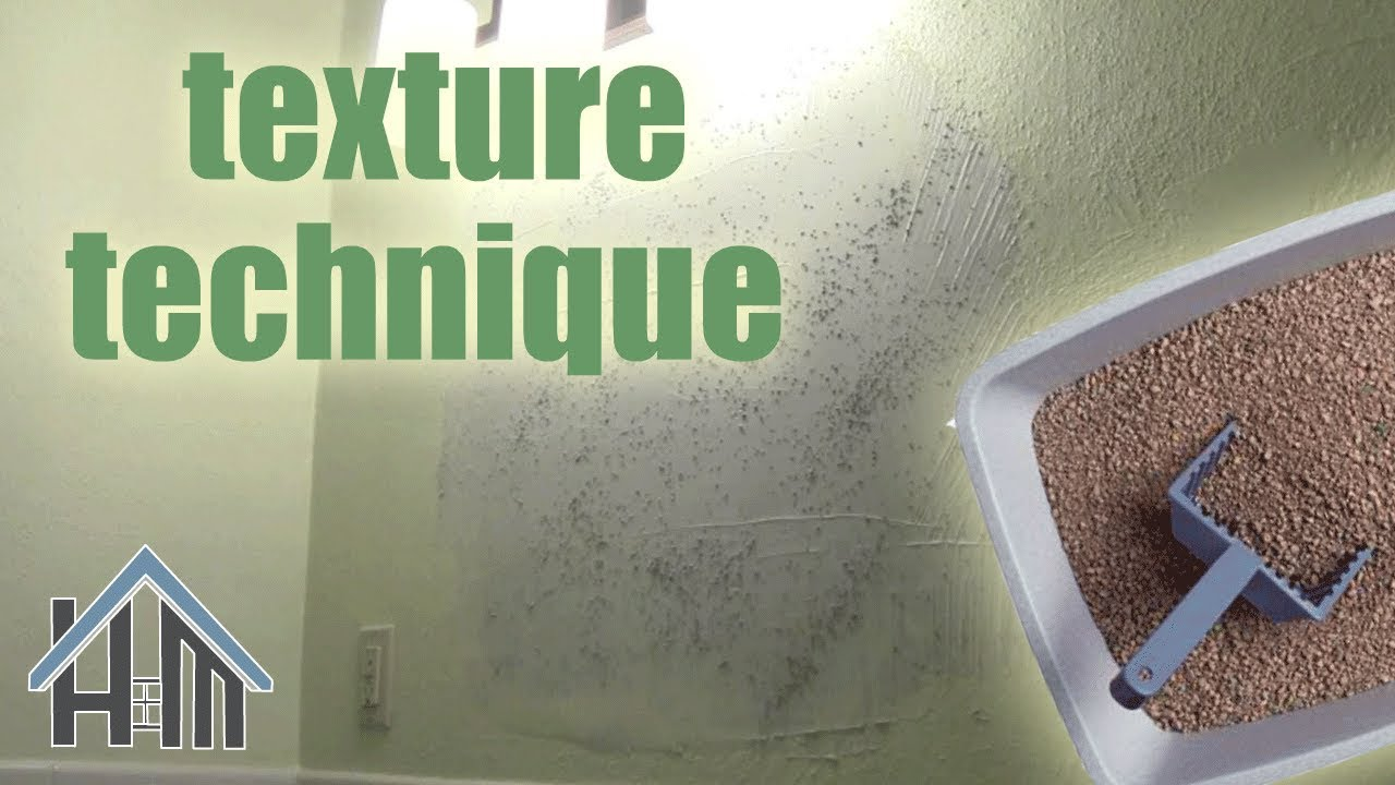 Fantastic how to texture wall, texture drywall, sand texture. Easy! Home  LA77