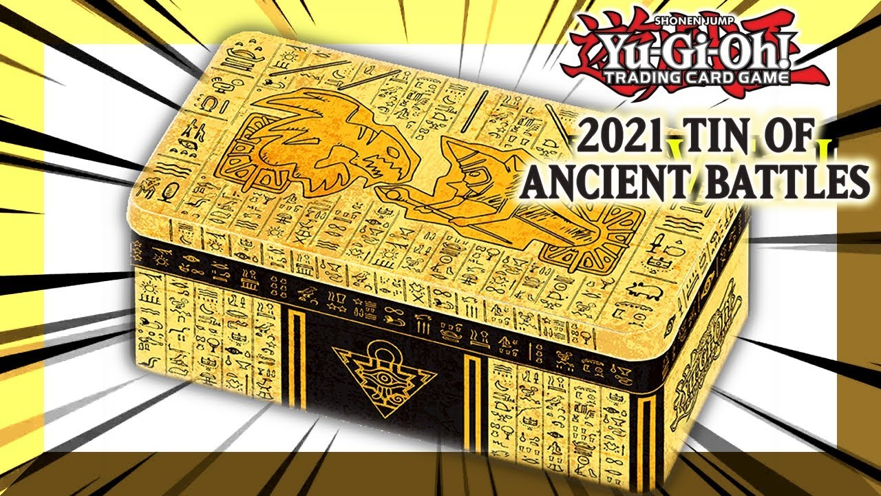 Yu-Gi-Oh! 2021 Tin Of Ancient Battles [Reveal Opening]
