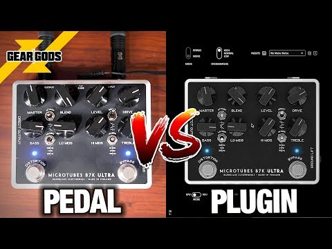 DARKGLASS Pedal Vs. Plugin - Do They Sound The Same? (Feat. SHADOW OF INTENT) | GEAR GODS