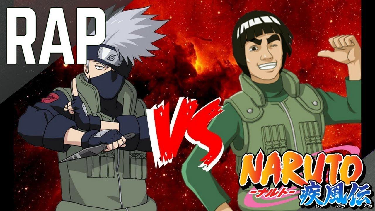 Kakashi vs Gai RAP || Frikirap || CriCri :D Ft Makibe-Rap ...