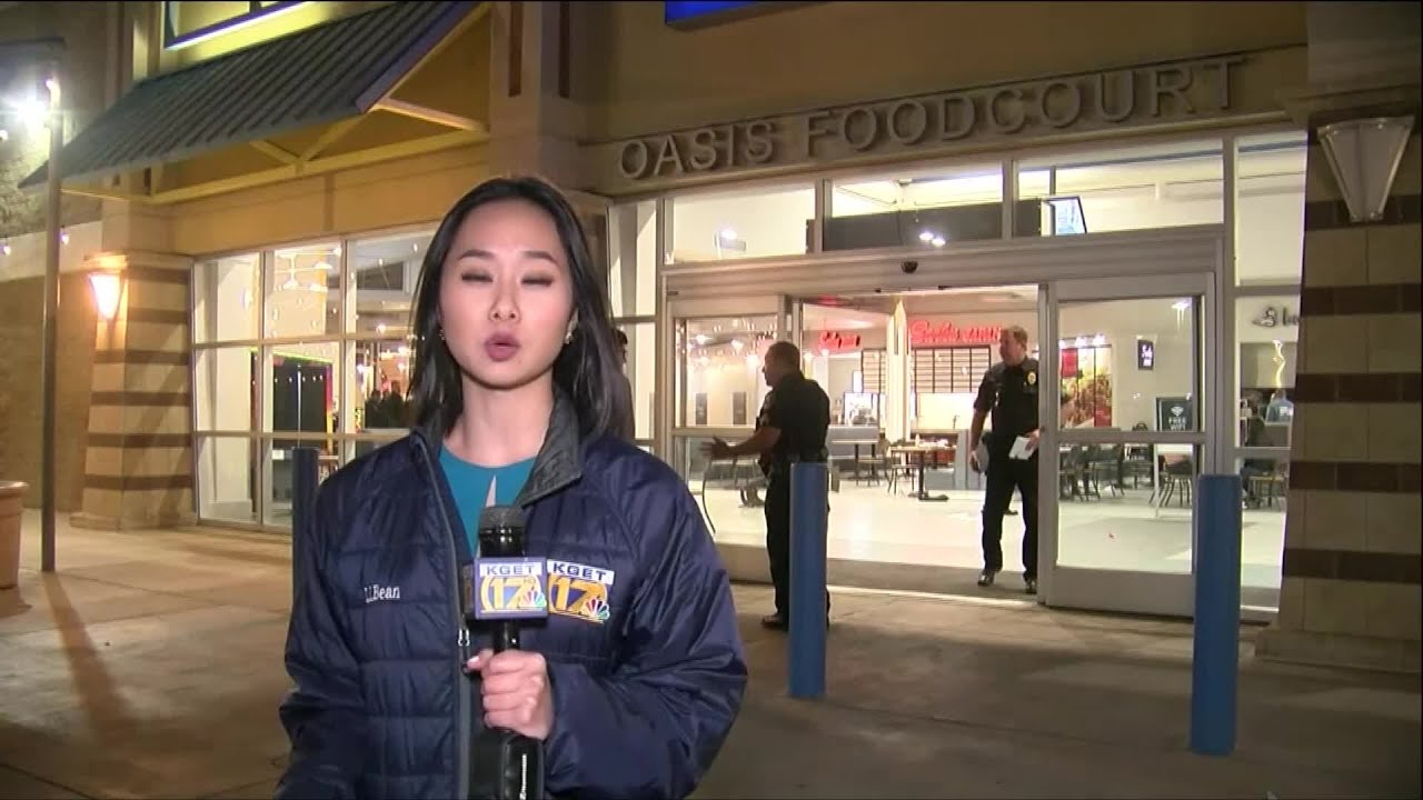 Two injured after a shooting at a Bakersfield mall; the suspect is on the run