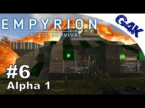 Epsilon Spaceport Assault | Empyrion Alpha 1 Let
