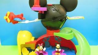 ディズニー/ミッキーマウス/ミニーマウス/フライ & スライド・クラブハウス/Mickey Mouse Fly 'n Slide Clubhouse