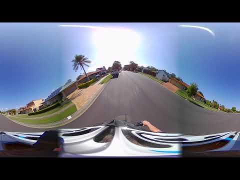 Testing my new BlackFin 720 Camera