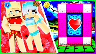Minecraft GIRLS - How to Make a Portal to GET A GIRLFRIEND