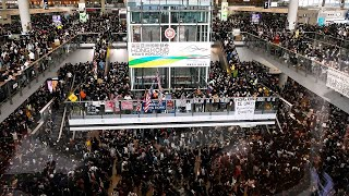 Protests return to Hong Kong airport