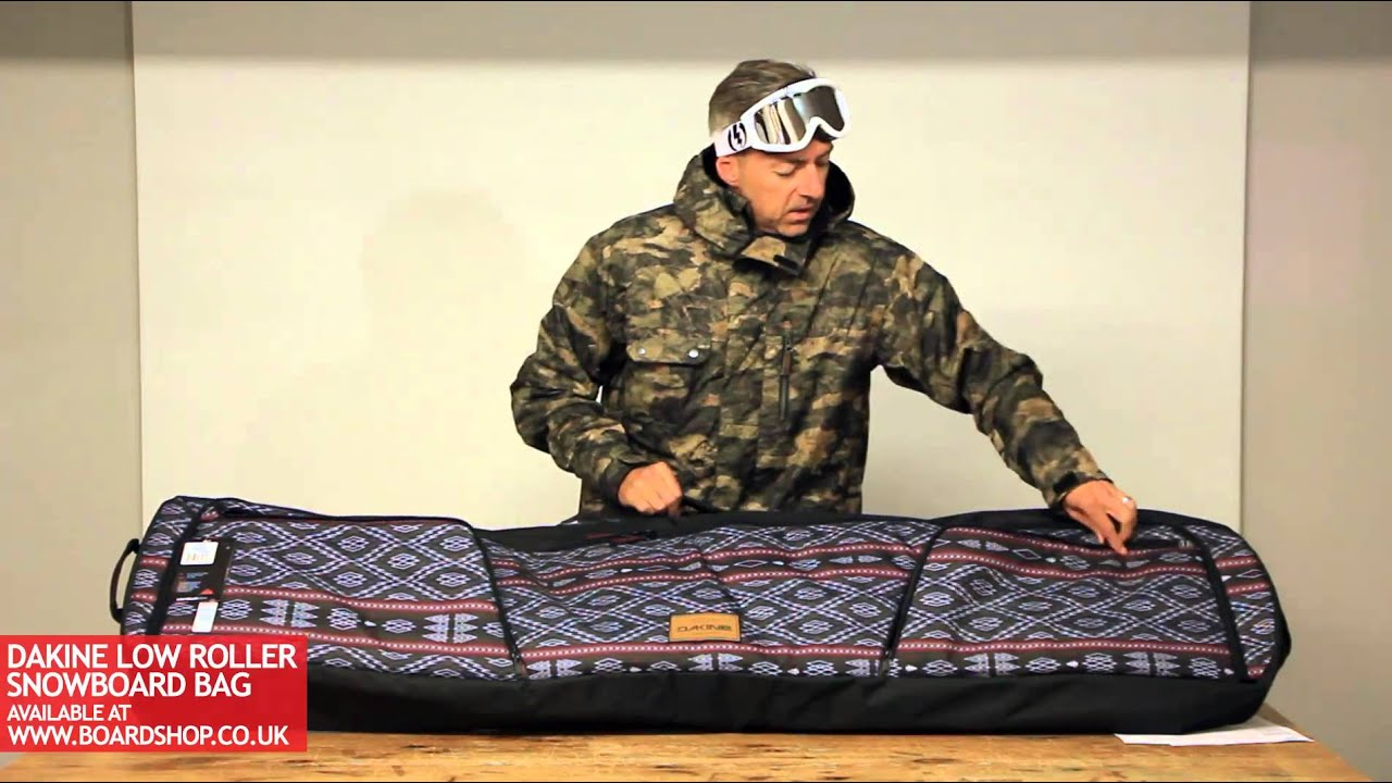 Ski Boot Bag >> Dakine Low Roller Snowboard Bag review - YouTube