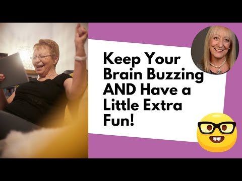 Brain Games for Seniors: Keep Your Brain Buzzing, While Having a Little Extra Fun ;)