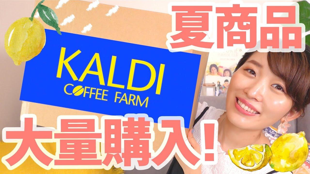 【カルディ購入品】夏に食べたい新商品いっぱい買ったよ〜!!