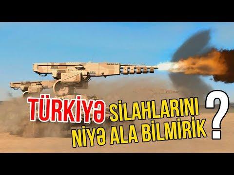 AZƏRBAYCAN TÜRKİYƏ SİLAHLARINI