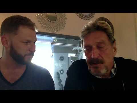 John McAfee interview with MidEarthCrypto