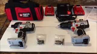 Porter Cable 1/2 Drill 20 Volt Max Lithium Ion Review (PCC600)