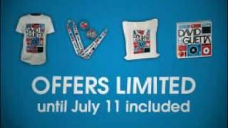 Shop.DavidGuetta.com // Summer Selection