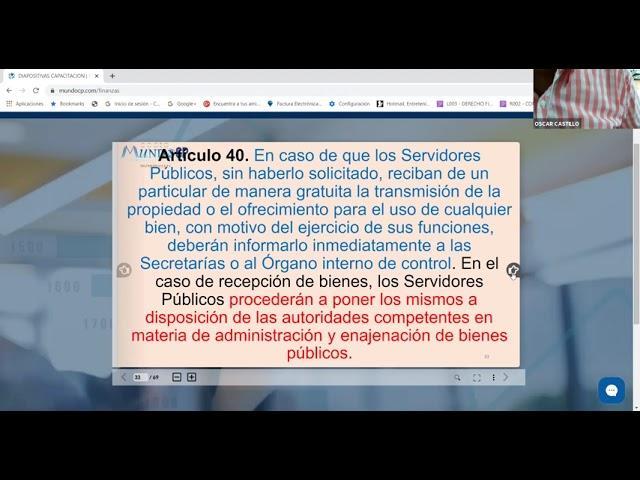 DECLARACIÓN PATRIMONIAL DE LOS SERVIDORES PÚBLICOS