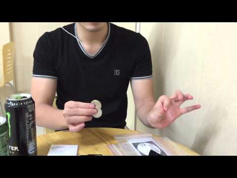 Split 3 coins by Kueppers video