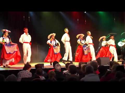 Jarabe Michoacano. Ballet Folklorico Infantil Coahuila, Polonia 2017