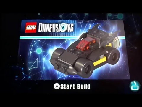 Lego Dimensions Batmobile Build Instructions How To Youtube