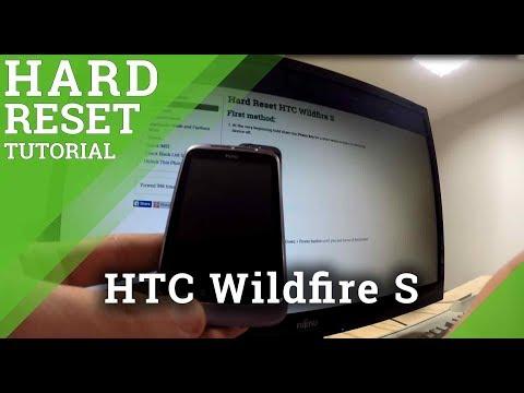 Hard Reset HTC Wildfire S - Full Reset Tutorial