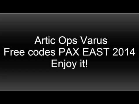 Free Artic Ops Varus Skin from PAX 2014