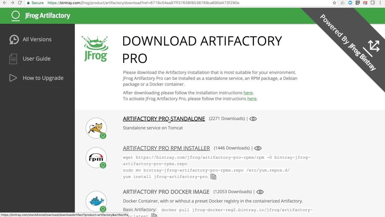 [Screencast] Upgrading Artifactory 4 to Artifactory 5 in under one minute