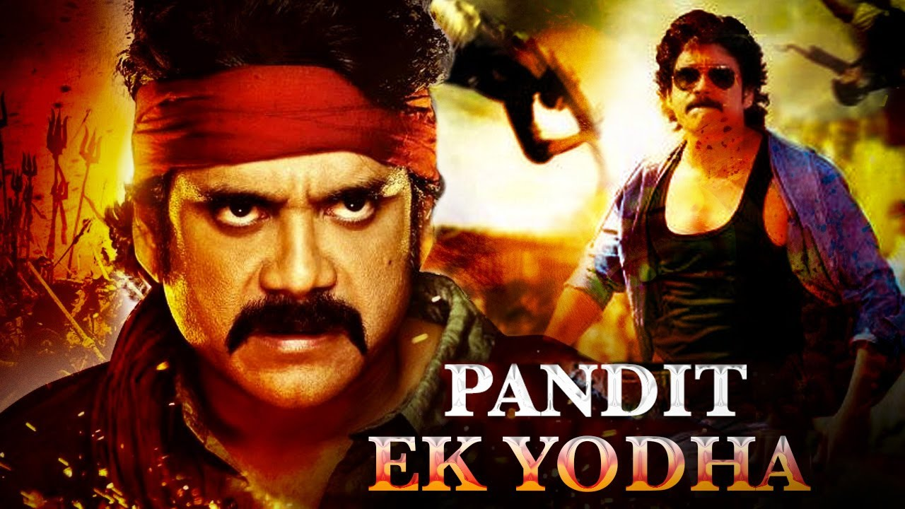 Pandit Ek Yodha (Eduruleni Manishi) Hindi Dubbed 2020 Action Movie | Nagarjuna Akkineni