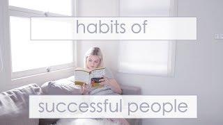 22 Habits of Successful People