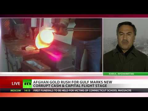 Afghan gold rush for Gulf: Arms dealings & drug money laundering