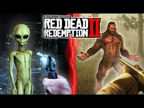 Top 10 Red Dead Redemption 2 Easter Eggs (RDR2 Easter Eggs)