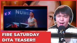 SECRET NUMBER - Fire Saturday MV Teaser (DITA ver.) Reaction…
