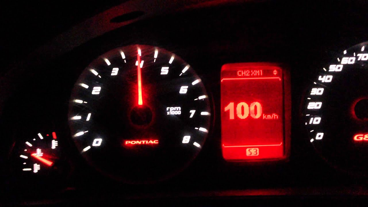 Fast Acceleration G8 V6 Slp Loudmouth