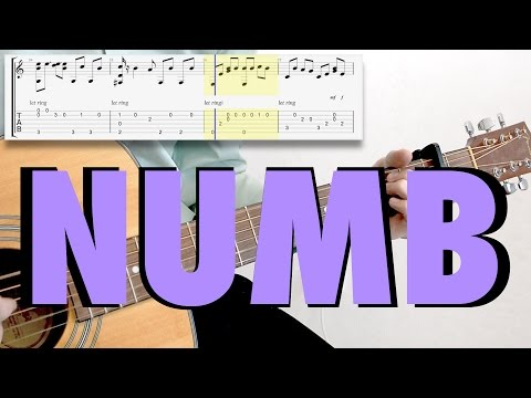 Linkin Park - Numb (fingerstyle, acoustic cover, tab)