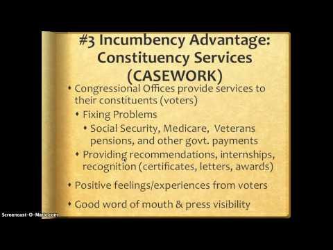 3 Incumbent Advantages