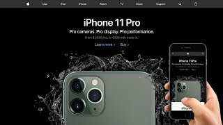 Gambar cover Responsive Apple Website iPhone 11 Pro Redesign | HTML and CSS Tutorial