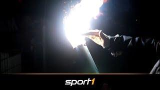 Kalte Pyrotechnik: Fan-Konflikt vor Revolution | SPORT1