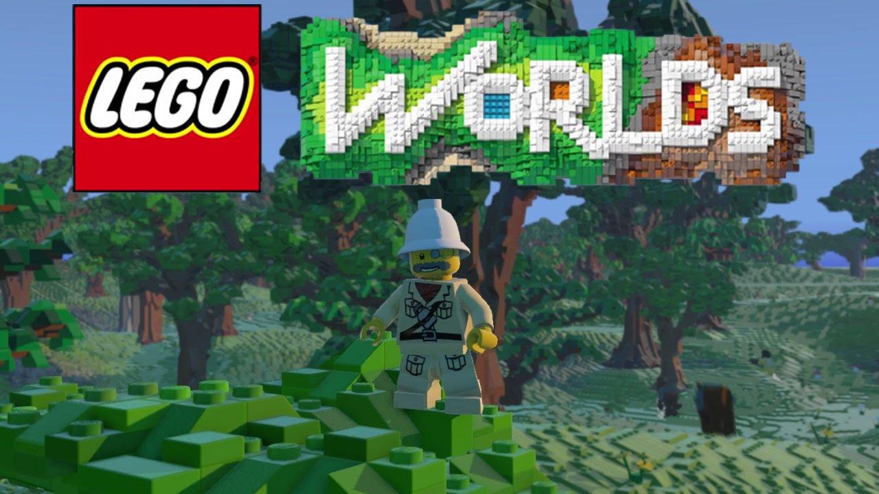 Lego Worlds Zabójca Minecrafta Vertez Youtube