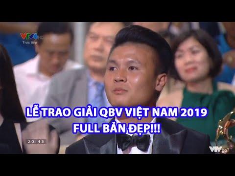 FULL BẢN ĐẸP |  Lễ Trao Giải Quả Bóng Vàng Việt Nam 2019