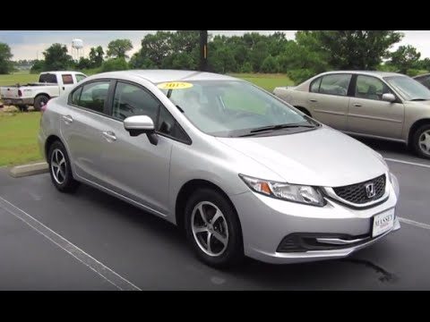 2015 honda civic se full tour start up at massey toyota. Black Bedroom Furniture Sets. Home Design Ideas