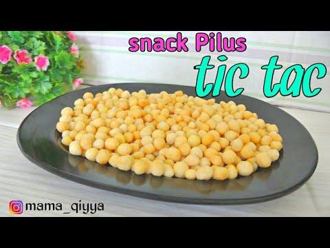 Cara Membuat Snack Pilus Tic Tac Enak Renyah Youtube