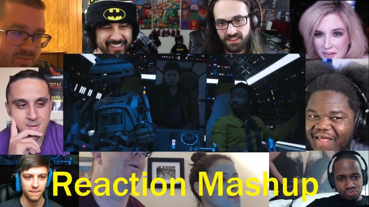 Solo: A Star Wars Story Official Trailer REACTION MASHUP